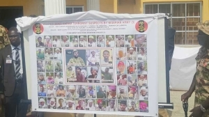 Military Unveils Photograph Of New 55 Wanted Boko Haram Terrorists